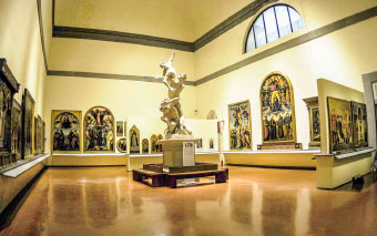 Accademia Gallery in Florence, Italy