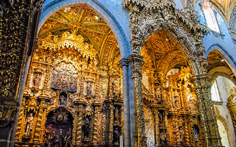 Church of Saint Francis in Porto, Portugal